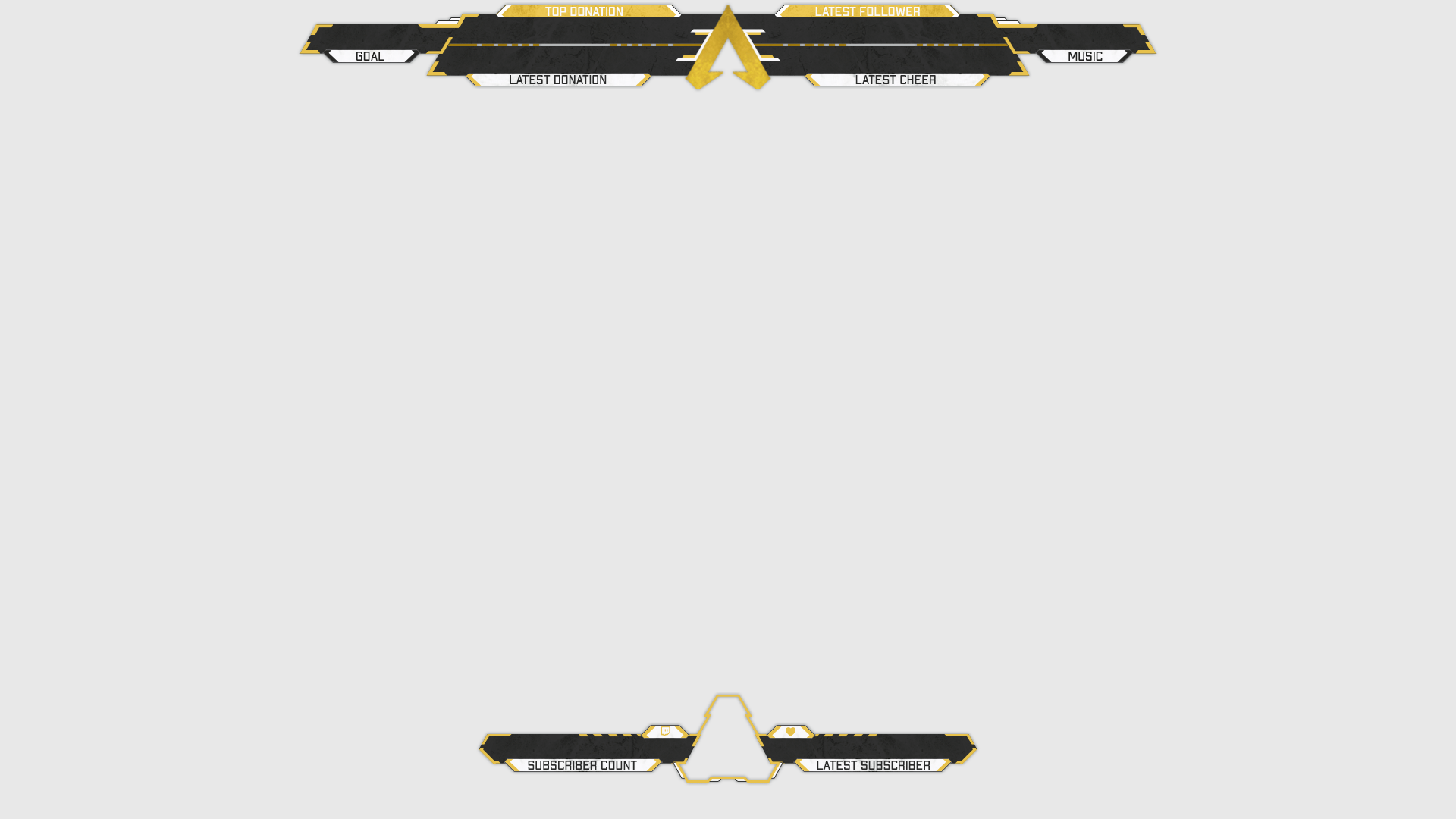 Alegends - Twitch Overlay