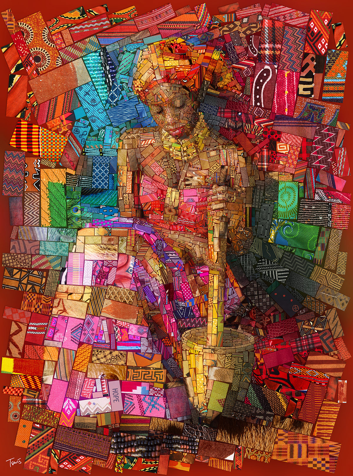 Incredible Mosaics Inspired By The African Bricks By Charis Tsevis Graphic Art News