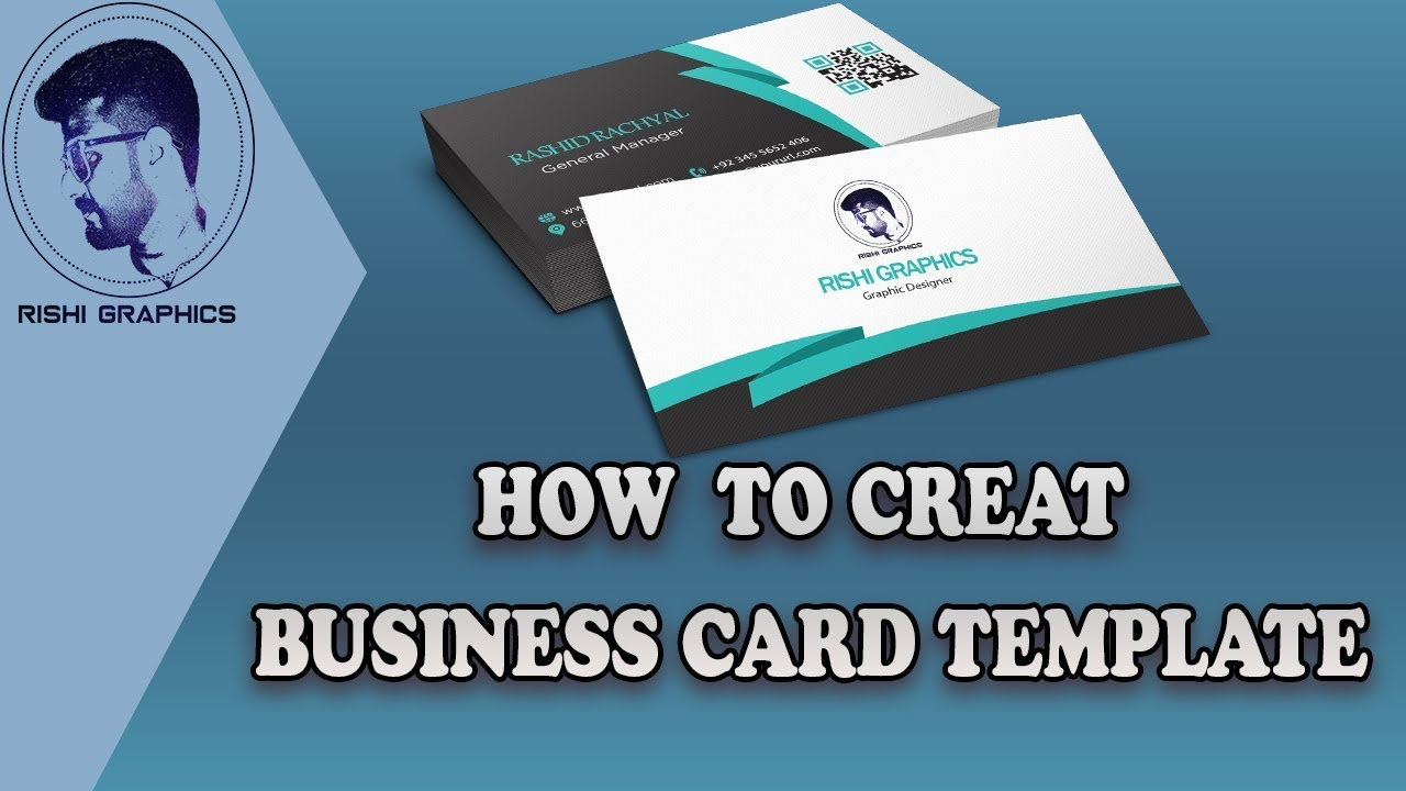 How to make business card template in photoshop rishi graphics how to make business card template in photoshop rishi graphics graphic design reheart Image collections