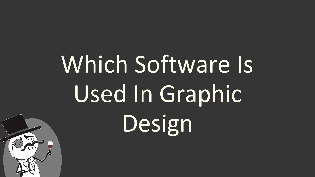 Which Software Is Used In Graphic Design Graphic Art Design