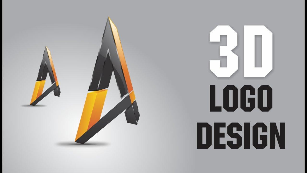 3d Logo Design In Coreldraw X7 1 Graphic Art