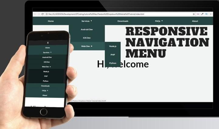Responsive Web Design Page 2 Graphic Art Design