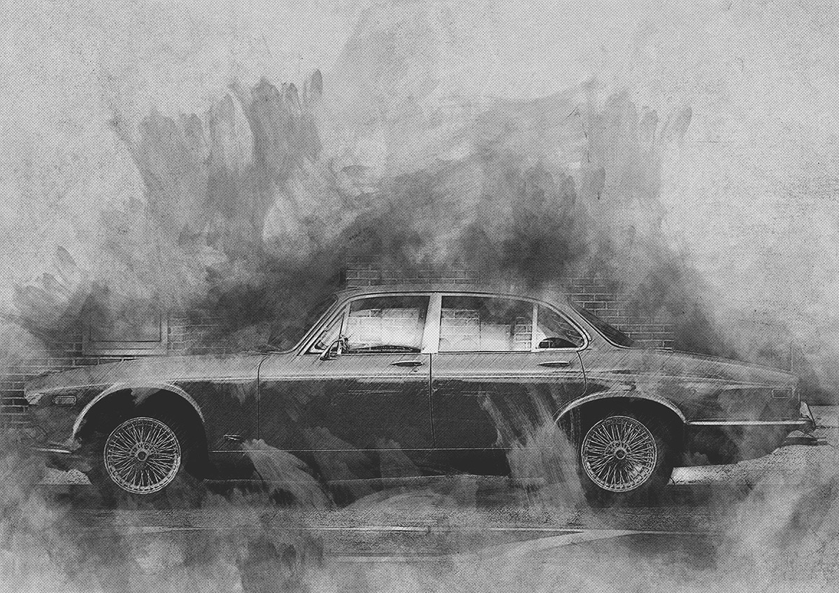 free photoshop actions Artistic Pencil Sketch