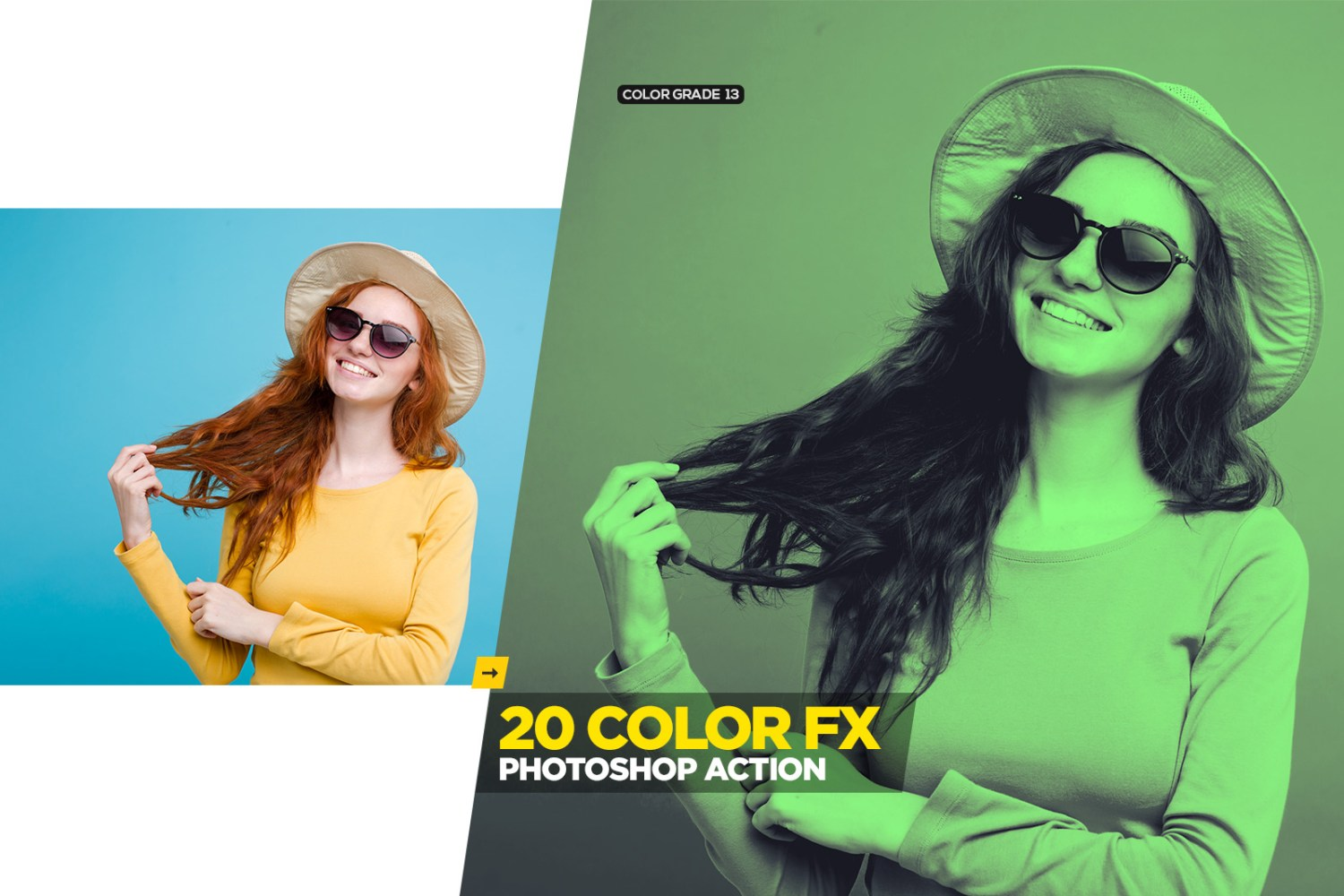 Free Color Grading Photoshop Action