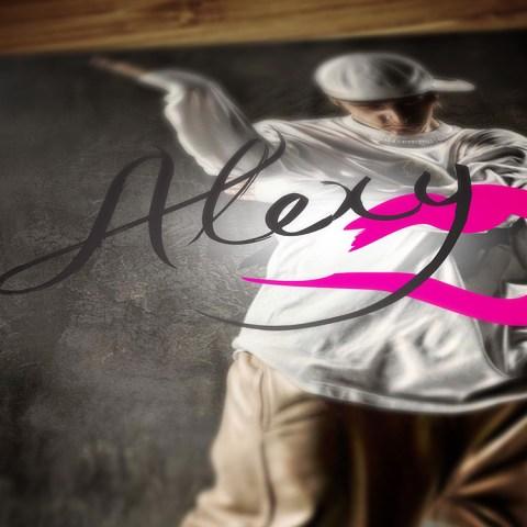 Alexy logo mockup
