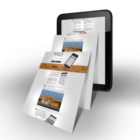 Peco Pro web design