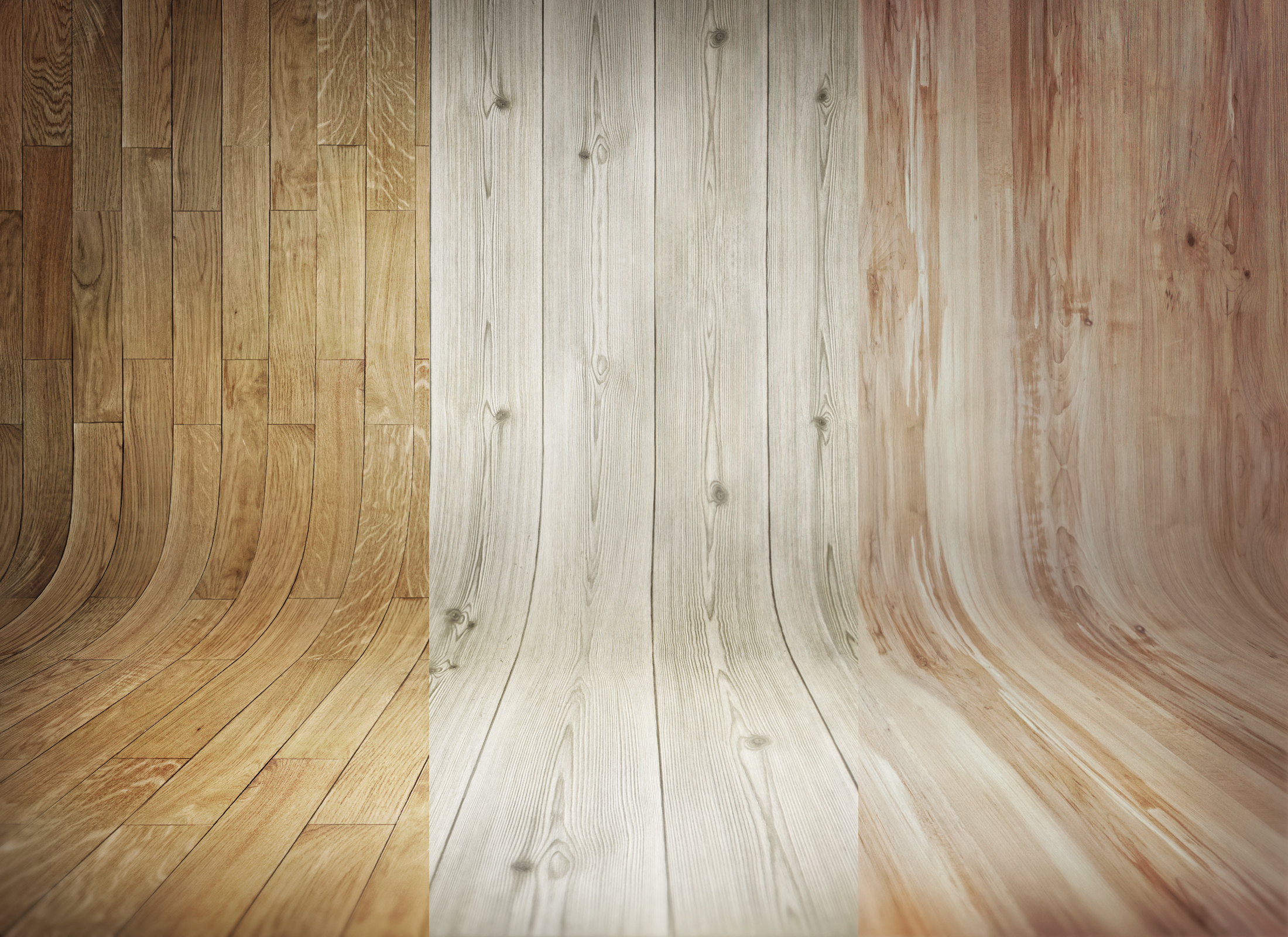 3 Curved Wooden Backdrops Vol1  GraphicBurger