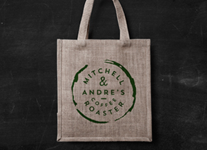 This front view fabric shopping bag mockup is a perfect way to showcase your refreshing pattern designs. Eco Bag Mockup Graphicburger