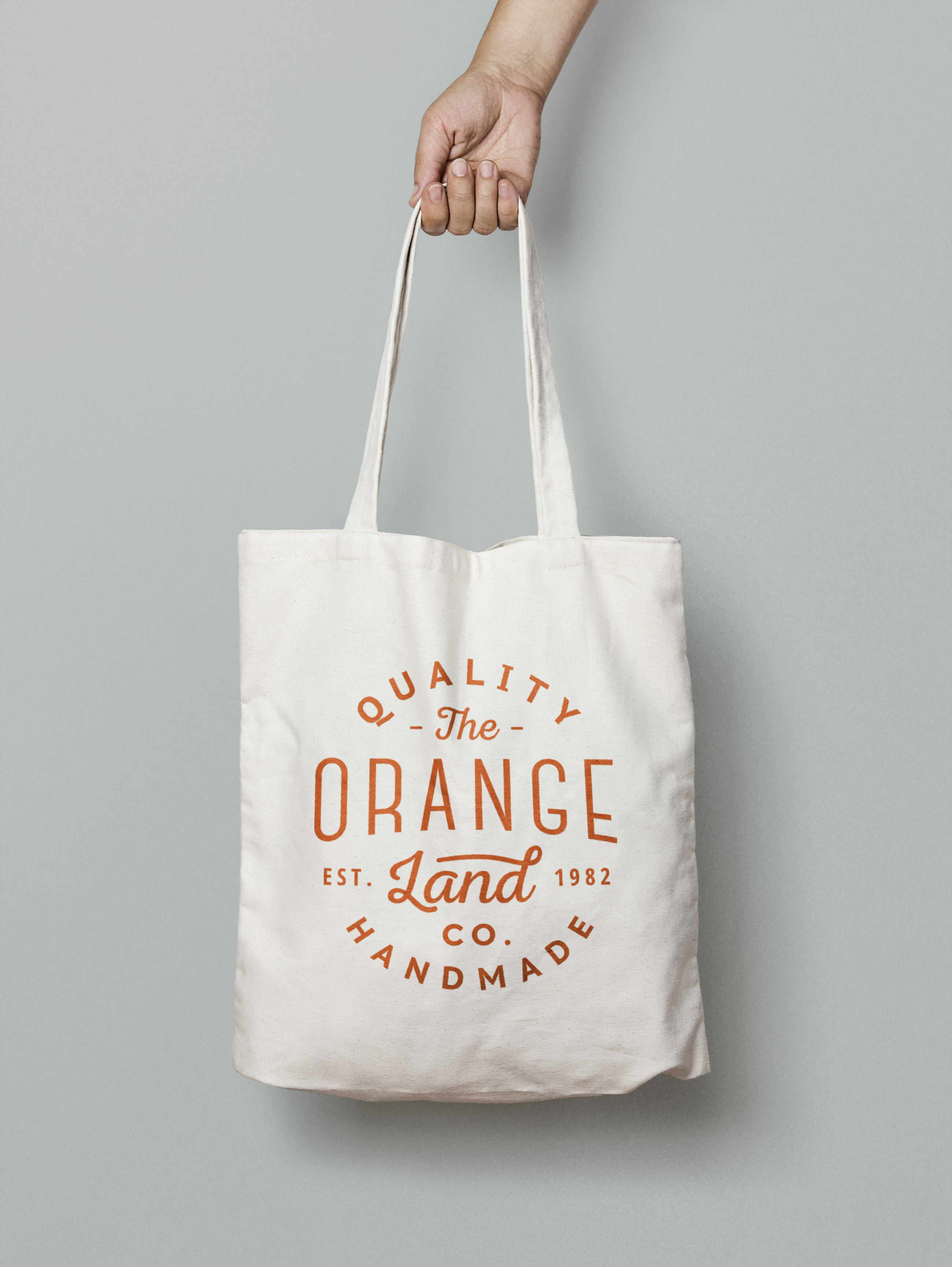 An elegant psd tote bag mockup to showcase any branding designs. Canvas Tote Bag Mockup Graphicburger