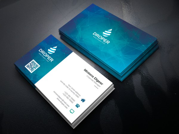 Admiral Professional Corporate Business Card Template