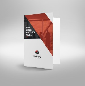 Sirius Sleek Corporate Presentation Folder Template