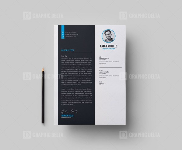 Creative Vector Resume CV Design