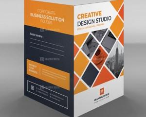 EPS Sleek Corporate Folder Template