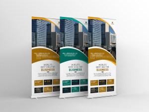 Premium Roll-Up Banner Design