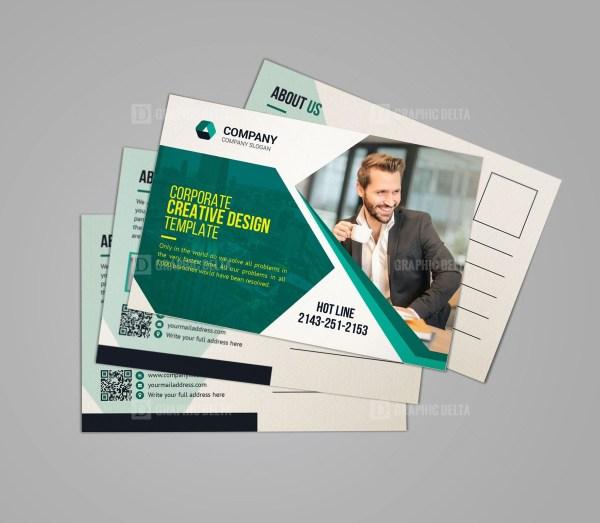 Professional Business Postcard Design