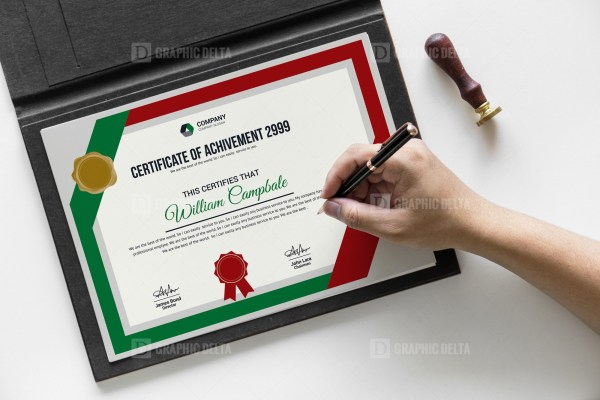 New Quality Certificate Template