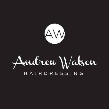 Andrew Watson Hair Logo Design