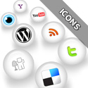Post thumbnail of WHITE MAGIK Social Media Icons Pack – Free Download