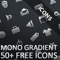 Post thumbnail of Mono Gradient Icon Pack: 50+ Free Icons for Your Web Designs & Mobile Apps
