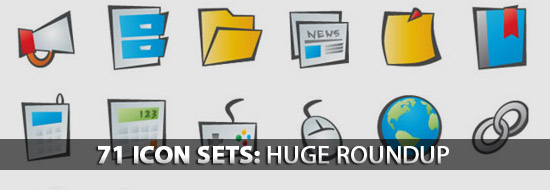 71 Icon Sets: Huge Roundup of Web, CMS, Mobile App Icon Sets