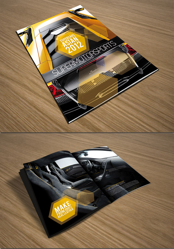 25 Brochure Designs Creative & Inspiring