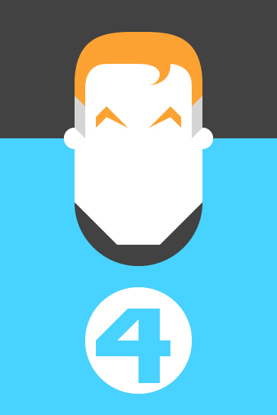 Mr Fantastic Illustration