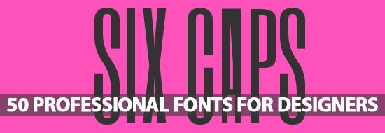 Free Fonts: 50 Professional Fonts For Designers - Best Post Of 2012