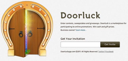 Doorluck Coming Soon Page Design