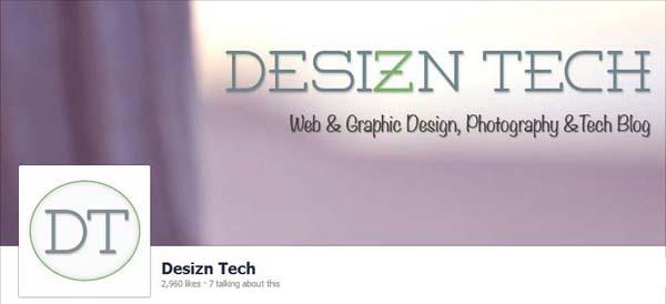 Desizntech Facebook Timeline Cover