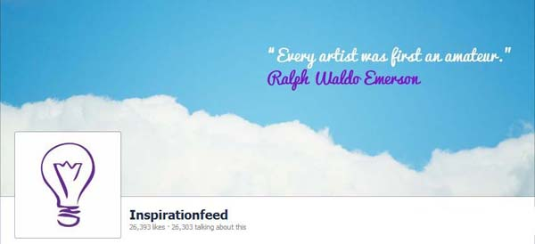 InspirationFeed Facebook Timeline Cover