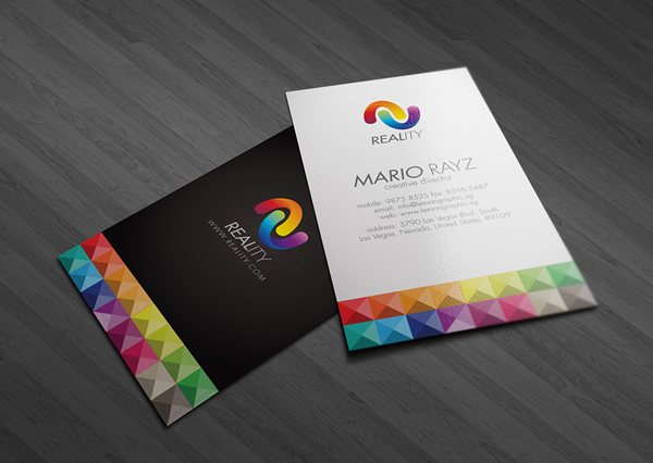 professionally designed business cards