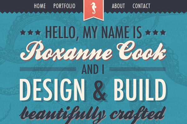 Single page web designs