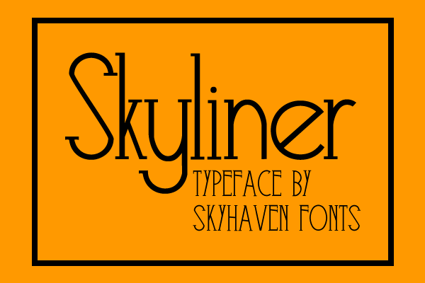 Excellent free fonts for desigenrs 15