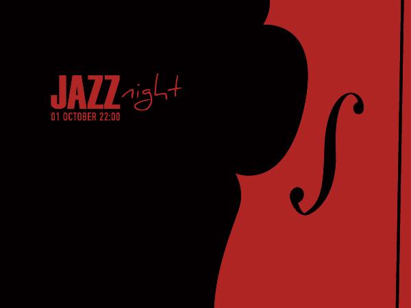 Jazz Night Poster Vector Graphic