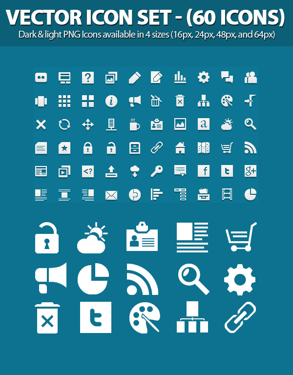 Free Vector Icons Pack 12