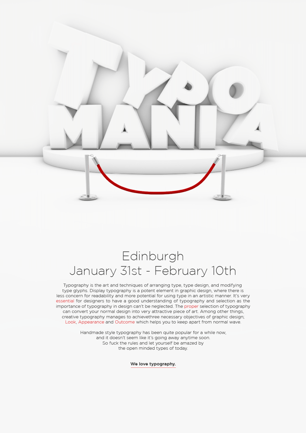 Remarkable Big Typography Design 28