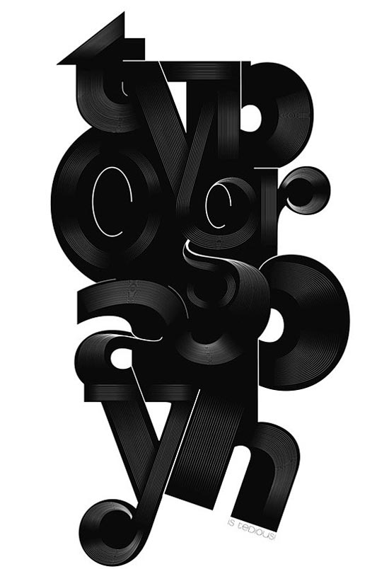 Remarkable Big Typography Design 5