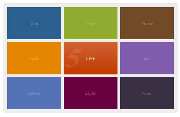 CSS3 and jQuery Tutorials 19
