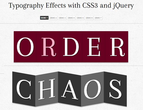 CSS3 and jQuery Tutorials 25