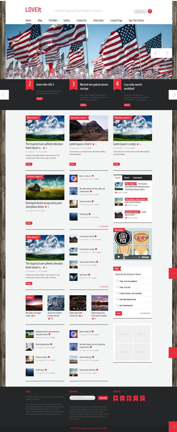 Top Premium News and Magazine Responsive WordPress Themes - 12