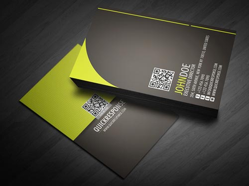 Professional business card design 1