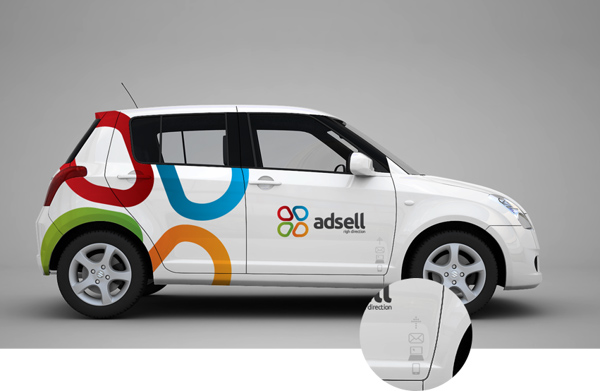 34 Beautiful Examples of Vehicle  Car Branding  Design