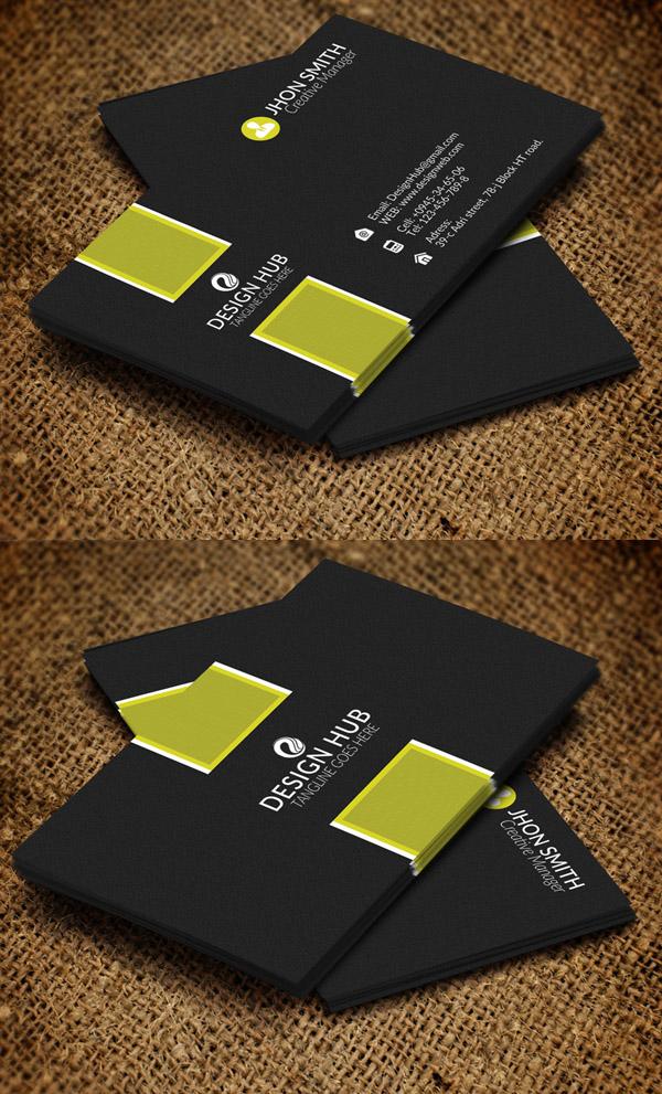 26 Modern Business Cards PSD Templates (Print Ready)   Design   Graphic Design JunctionGraphic Design Junction