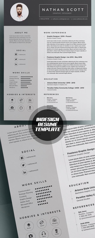modern resume format template