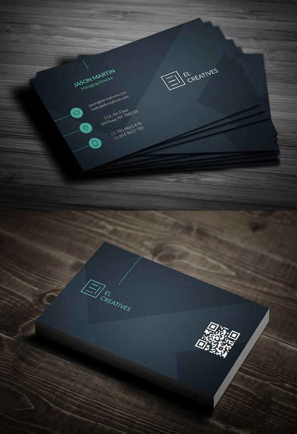25 New Professional Business Card Templates Print Ready