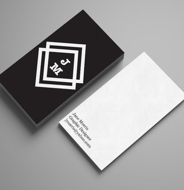 Branding: Jane Morris - Business Card