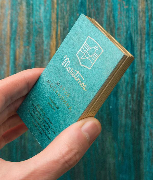 Branding: Maretimos - Business Card