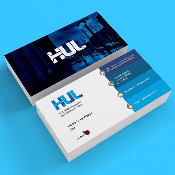 Branding: HUL- Business Card