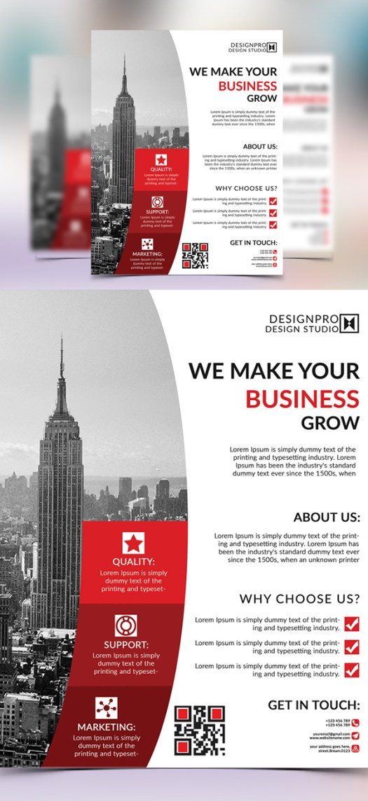 25 Creative Corporate Flyer Templates Mixed Sign