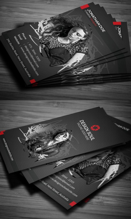 Creative photography business card psd templates mixed sign creative modern and clean photography business card templates for professional photographers and designers you can easily customize and use these cards reheart Images